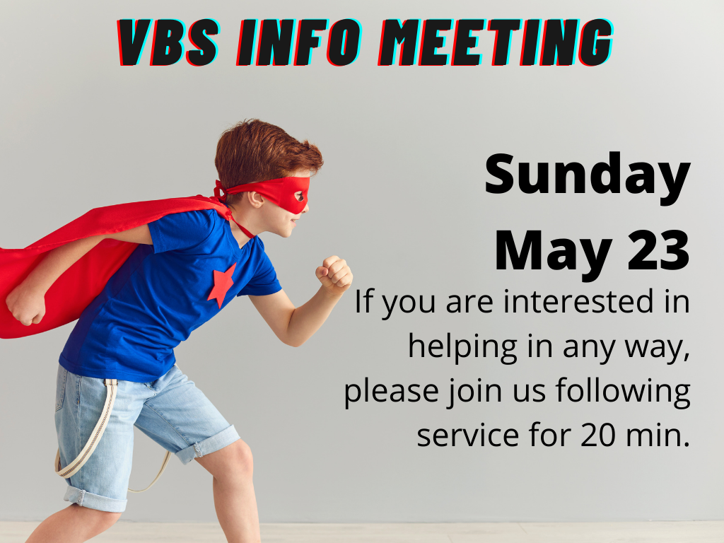 vbs info meeting